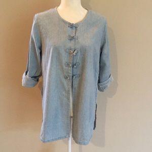 Sorrel Jean Shirt/Kimono